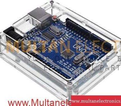 Arduino Uno Transparent Casing