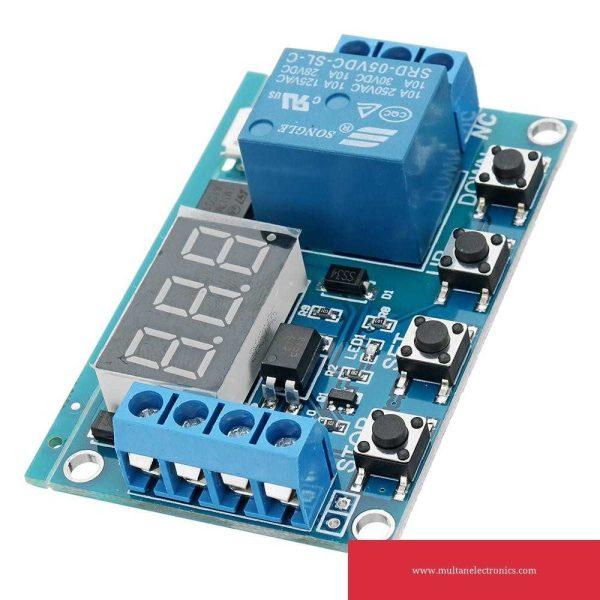 Timer relay for incubator