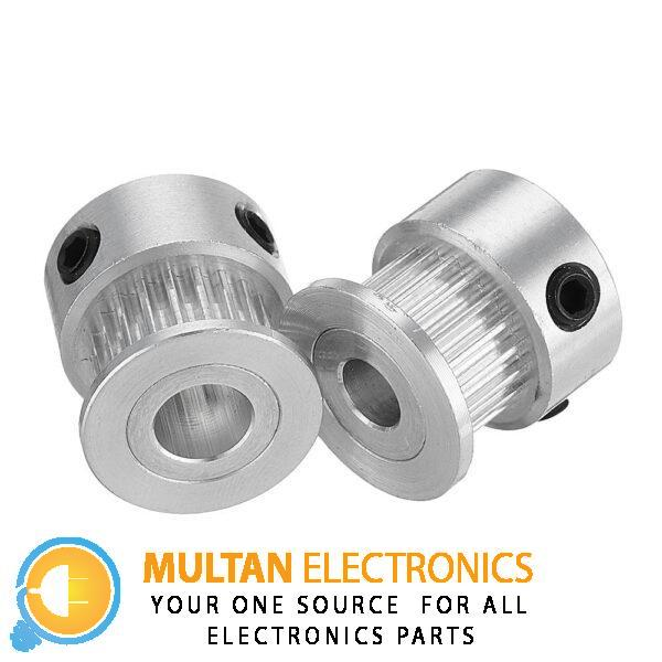 5mm GT2 Aluminum Pulley For Stepper Motor