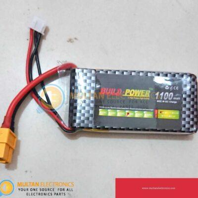 7.4V 40C 2S 1100mah Lipo Li-Po Rechargeable Lithium Battery