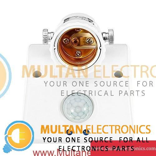 E27 60W PIR Motion Sensor Bulb Adapter Delay Time Adjustable