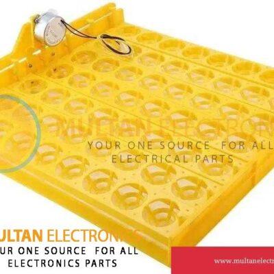 56 Eggs Mini Incubator Hatcher Automatic Egg Turning Tray With Motor