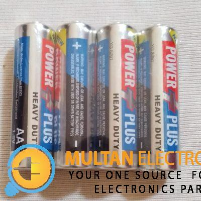 power plus aa cell silver origanal