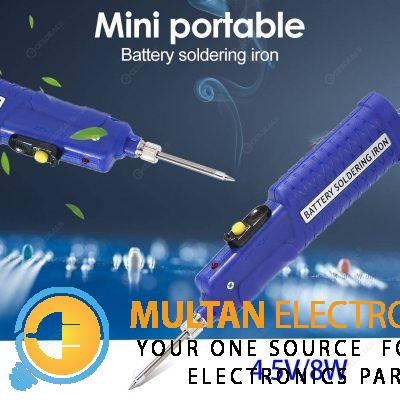 8W 4.5V Portable Electric Iron Battery Powered Soldering Iron