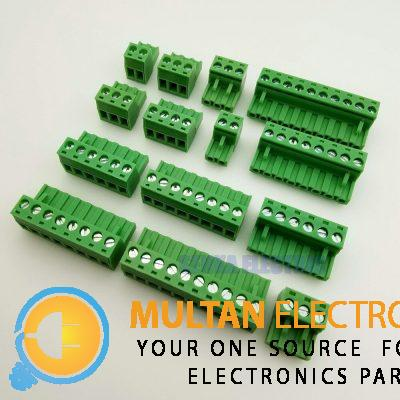 Bent Screw Terminal, PCB Mount Right Angle Connector
