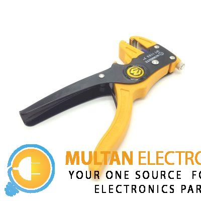 "Work Site WT1153 7"" Self-adjusting Insulation Wire Stripper Cutter Hand Crimping Tool"
