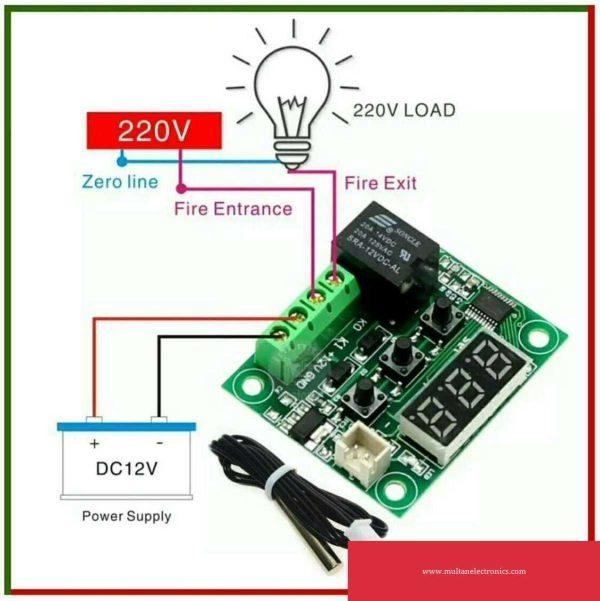 W1209 Temperature controller