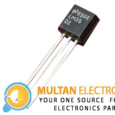 LM35DZ TO-92 LM35 Precision Centigrade Temperature Sensor