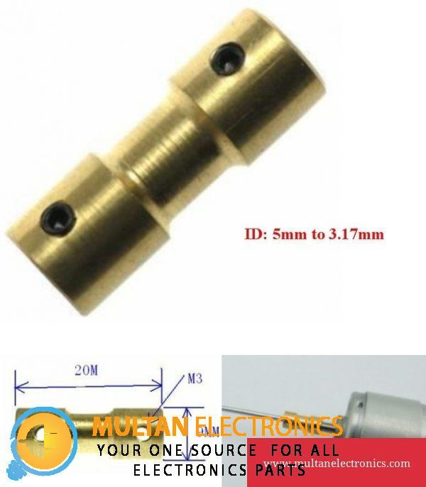 shaft coupler 5mm to 3.17mm