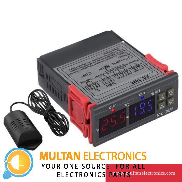 Temperature Humidity Controller STC 3028