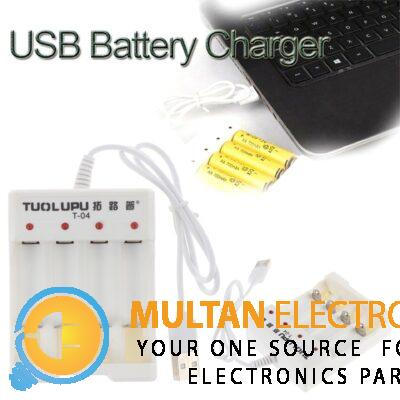 Battery Charger for AA/AAA