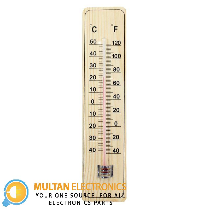 Wooden Thermometer Temperature Meter