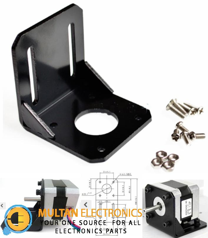 Stepper Motor Mounting Bracket