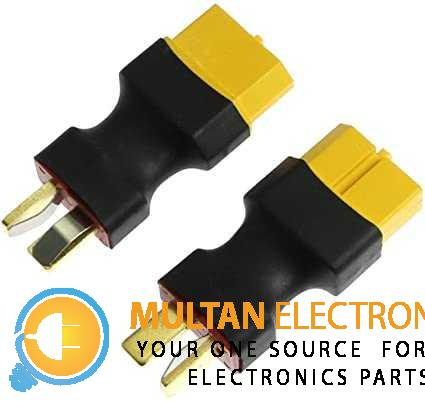 T Plug Male to XT60 Female