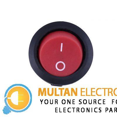 round switch button