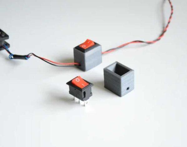 button casing