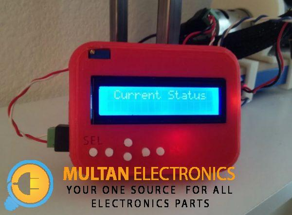 Case LCD shield Arduino