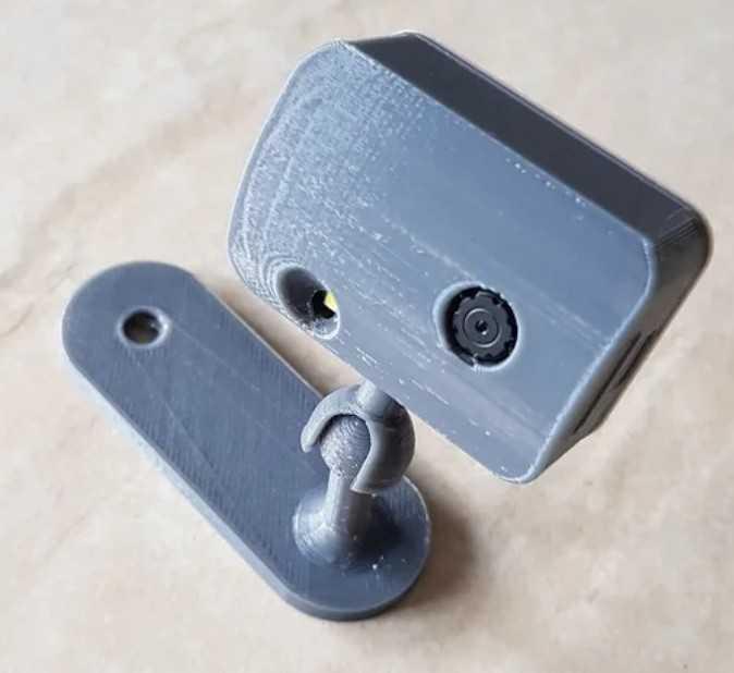 ESP32-Cam case mount