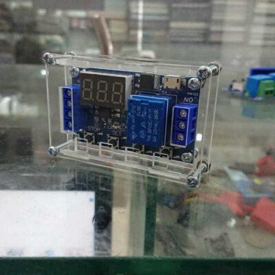 Timer Relay Acrylic Case Transparent Case