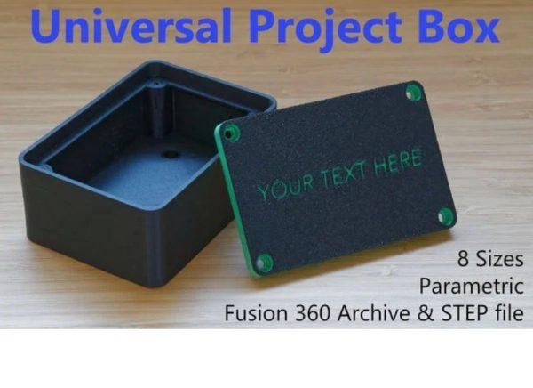 Universal Customize Project Box