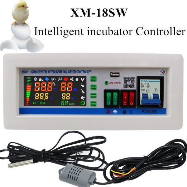 XM18SW XM 18SW Intelligent Incubator Controller Egg Incubator WIFI Remote Intelligent Controller