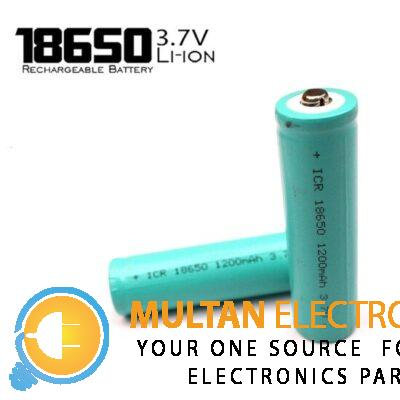 18650 Rechargeable Battery Cell 3.7V 1200 mAH Li-ion