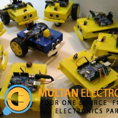 3 Wheel Robotic Car