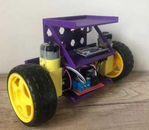 Self Balancing Arduino Robot