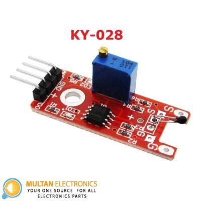 KY-028 Thermistor Temperature Sensor Module