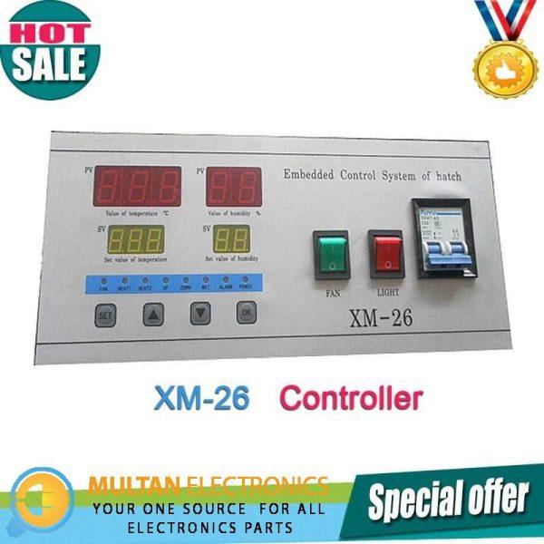 XM 26 controller for incubator