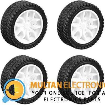 Wheel 30 mm Rubber Tires