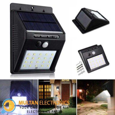 Solar Human Detection lamp